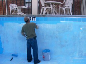 Pool Cleaning & Painting