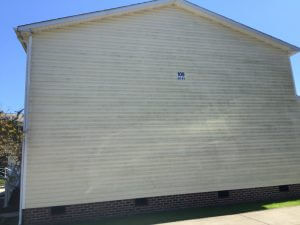 Residential Vinyl Siding (Before)